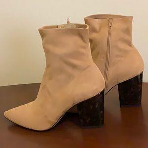 Tortoiseshell Ankle Boots